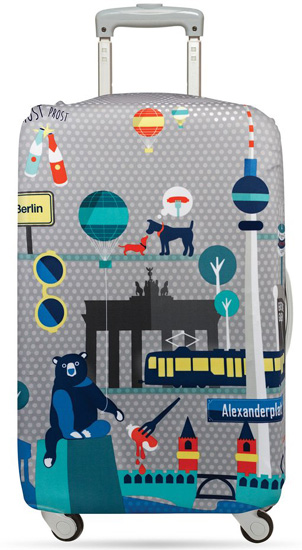 Berlin Luggage Cover