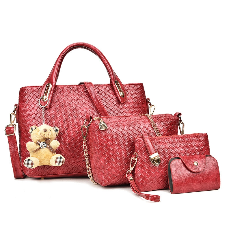 Ericdress Charming Knitted Handbags(4 Bags)